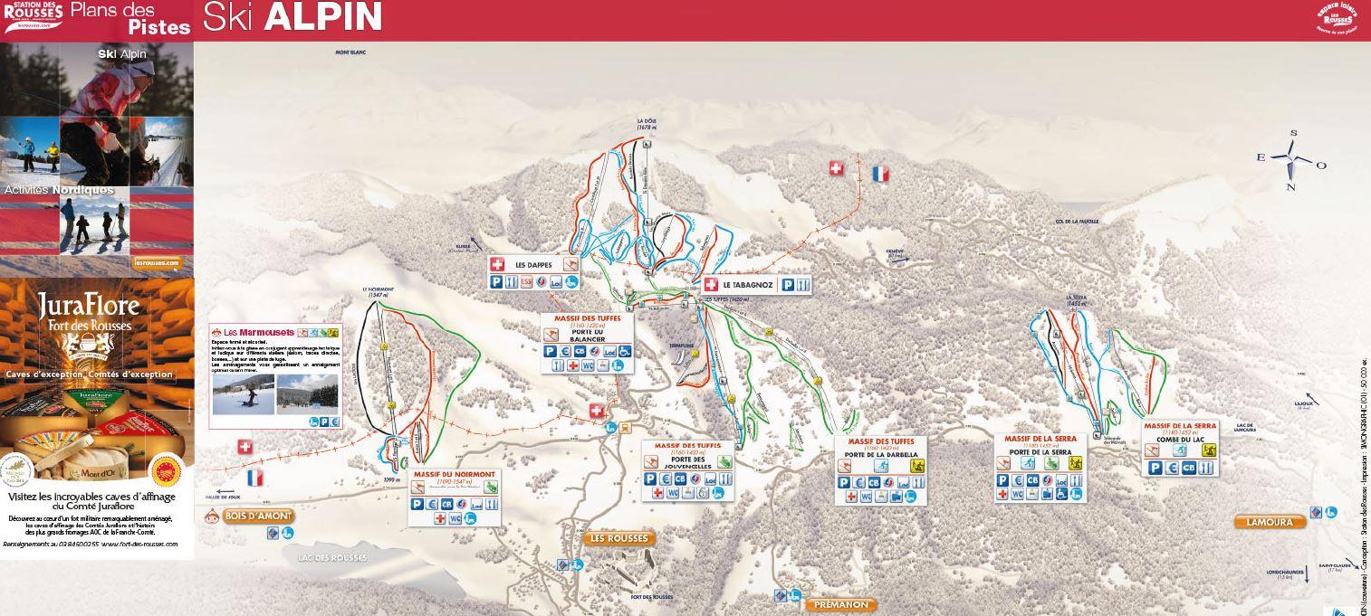 Station des rousses site officiel de l 39 office de tourisme massif de la serra - Office du tourisme les rousses ...